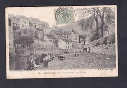 Vente Immediate Aubusson (23) Un Vieux Quartier - La Terrade ( Animée Lavandieres B.F. Paris) - Aubusson