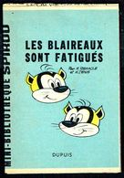 """Mini-récit N° 197 - """" LES BLAIREAUX SONT FATIGUES """" De M. REMACLE Et M. DENIS- Supplément à Spirou - Monté. - Spirou Magazine"""