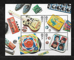 GB 2007 THE BEATLES MINIATURE SHEET  MNH - Unused Stamps
