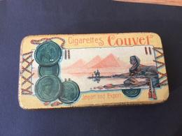 Cigarettes Couver Tin Box, 1910/20..Import And Export.Litho. - Boites à Tabac Vides