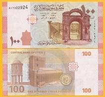 Syria 100 Lira P-113 2009 (Prefix A) UNC - Syrien