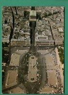 75 Paris Vue Aérienne La Place De La Concorde Et L'église De La Madeleine Editions Chantal - Plätze