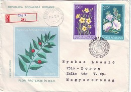 1990 Romania  Registered - Lettres & Documents