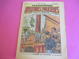 Hebdo Jeunesse/Les Grdes Aventures Policiéres/John Strobbins,détective Cambrioleur/Imp Charaire Sceaux/1930  BD123 - Other