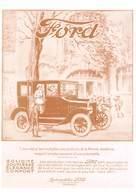 L'Automobile Et La Publicité Au Début Du Siècle - Voiture FORD, Bordeaux - Voitures De Tourisme