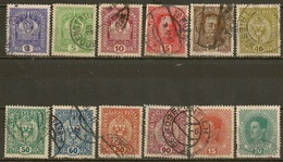 YVERT - 143-144-146-148-149-152/56-162-163 - 1850-1918 Empire