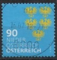 2018 - 3410 - ° -  Heraldik Neu - 0,90 NÖ - 1945-.... 2ème République