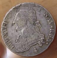 Louis XVI 1/2 Ecu Buste Habillé 1784 Paris - 987-1789 Monnaies Royales