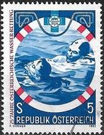 AUSTRIA 1982 25th Anniv Of Austrian Water Lifesaving Service - 5s Lifesaving FU - 1945-.... 2ème République