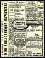 """Mini-récit N° 230 - """" L'HOMME DE LA PUBLICITE """" De GENNAUX Et HUBUC - Supplément à Spirou - Monté. - Spirou Magazine"""