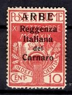 Itale/Arbe Et Veglia Arbe YT N° 8 Neuf *. B/TB. A Saisir! - Occupation 1ère Guerre Mondiale