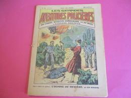 Hebdo Jeunesse/Les Grdes Aventures Policiéres/John Strobbins,détective Cambrioleur/Imp Charaire Sceaux/1930  BD124 - Other