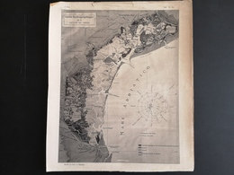 ANNALES PONTS Et CHAUSSEES (Italie) - Carte Hydrographique De La Lagune De Venise - 1906 (CLF51) - Zeekaarten