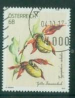 2017 - 3328 -  Gelber Frauenschuh - Treue/Bonusmarke - 1945-.... 2ème République
