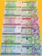 Turkmenistan Set 1 5 10 20 50 100 Manat 2009 UNC Banknotes - Turkmenistan