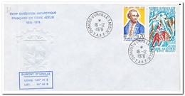 Frans Antarctica 1976, James Cook - Franse Zuidelijke En Antarctische Gebieden (TAAF)