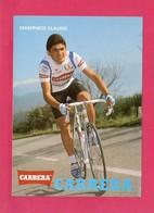 Cyclisme, Chiappucci Claudio, Equipe Carrera, Format 15 X 10.5 Cm, Cartonnée (05) - Wielrennen