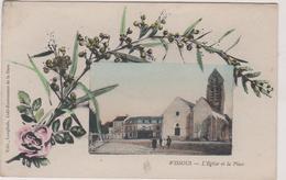 91 Wissous  L'eglise Et La Place - Other Municipalities