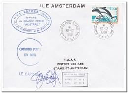 Frans Antarctica 1980, Fish - Franse Zuidelijke En Antarctische Gebieden (TAAF)