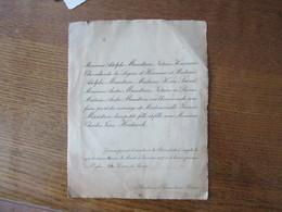 REIMS 3 BOULEVARD DESAUBEAU LE 11 JANVIER 1927  MADEMOISELLE YVONNE MANDRON AVEC MONSIEUR CHARLES JEAN HEIDSIECK - Mariage