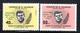 SALVADOR -  N°744+PA N°238 ** (1969) Apollo 11 / J.F.KENNEDY - Amérique Du Sud