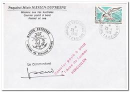 Frans Antarctica 1976, Birds - Brieven En Documenten