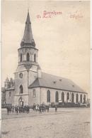 Bornem - Bornhem - De Kerk - Zeer Geanimeerd - 1914 - Phototypie Marcovici, Brussel - Kirchen U. Kathedralen