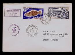 Base De Port Aux Françaises T.A.A.F. DUMONT-D'URVILLE Faune FISHES Geography Australe EXPÉDITIONS POLAIRES Gc3864 - Events & Commemorations