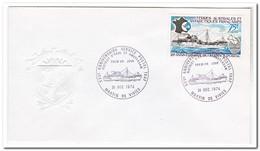 Frans Antarctica 1974, Ship - Brieven En Documenten