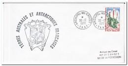 Frans Antarctica 1972, Plants - Franse Zuidelijke En Antarctische Gebieden (TAAF)
