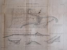 ANNALES PONTS Et CHAUSSEES (Dep 47) - Réservoirs D'Orédon - Macquet - 1887 - (CLF57) - Travaux Publics