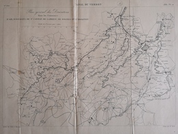 ANNALES PONTS Et CHAUSSEES (Dep 33) - Canal Du Verdon - E.Pérot - 1881 - (CLF58) - Public Works