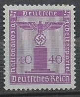 Impero 3 Reich  Servizio 165 MNH**(76-4 - Servizio