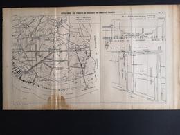 ANNALES DES PONTS Et CHAUSSEES (IDep 33) - Plan De Refoulement Des Produits De Dracages - 1907 (CLF60) - Travaux Publics