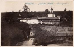 ROMANIA : PANCIU / VRANCEA : SCHITUL BRAZI - CARTE VRAIE PHOTO / REAL PHOTO POSTCARD - MAILED In 1930 (ac084) - Rumania