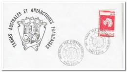 Frans Antarctica 1971, FDC, 10 Years Antarctic Treaty - FDC