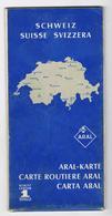 CARTA  ARAL:  SVIZZERA - Strassenkarten