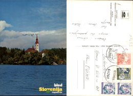 BLED,SLOVENIA POSTCARD - Slovenia