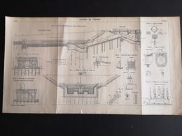 ANNALES DES PONTS Et CHAUSSEES  - Siphons Du Tréport - 1904 (CLF62) - Public Works