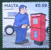 Postal Uniforms Mailbox Mi 1960 2017 Used Gebruikt/oblitere MALTA MALTE - Malta