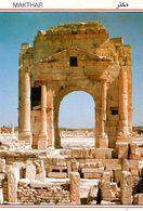 1 AK Tunesien * Trajansbogen In Mactaris (heute Makthar) War Eine Antike Stadt In Der Römischen Provinz Africa Byzacena - Tunesien
