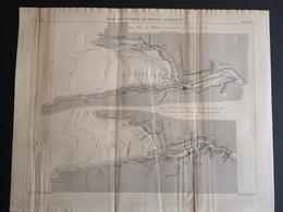 ANNALES PONTS Et CHAUSSEES (ESPAGNE) - Baie Et Rivière De Bilbao - Gravé Par Macquet 1890 (CLF66) - Public Works