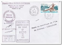 Frans Antarctica 1979, Memorial Of French Sailors - Brieven En Documenten