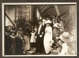 PHOTO RAPID LYON DEBUT XX ème SIECLE 13 X 18 Cm - NOBLESSE CEREMONIE MARIAGE HABIT ROBE HAUTE FORME - NOBILITY WEDDING - Personnes Anonymes