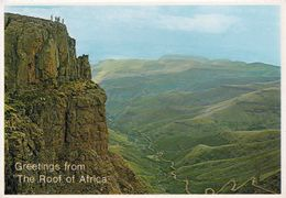 1 AK Südafrika * SANI PASS - Ein Gebirgspass In Den Drakensbergen Zwischen Dem Osten Von Lesotho Und Südafrika * - Südafrika