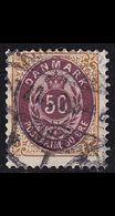 DÄNEMARK DANMARK [1875] MiNr 0030 II Y A C ( O/used ) - 1864-04 (Christian IX)