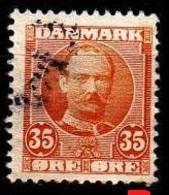 DÄNEMARK DANMARK [1907] MiNr 0057 ( O/used ) [01] - 1905-12 (Frederik VIII)