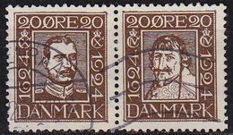 DÄNEMARK DANMARK [1924] MiNr 0133+36 ( O/used ) - Gebraucht