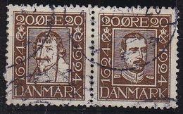 DÄNEMARK DANMARK [1924] MiNr 0136+33 ( O/used ) - Gebraucht