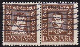 DÄNEMARK DANMARK [1924] MiNr 0139+42 ( O/used ) - Gebraucht